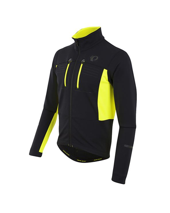 CHAQUETA ELITE ESCAPE SOFTSHELL NEGRO/AMARILLO