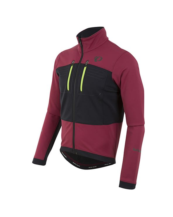 CHAQUETA ELITE ESCAPE SOFTSHELL ROJO/NEGRO