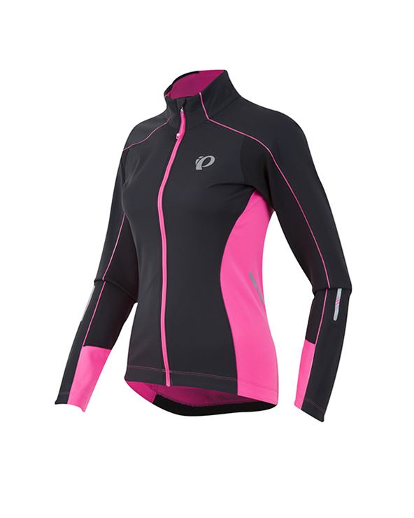 CHAQUETA MUJER SELECT PURSUIT SOFT SHELL NEGRO/ROSA