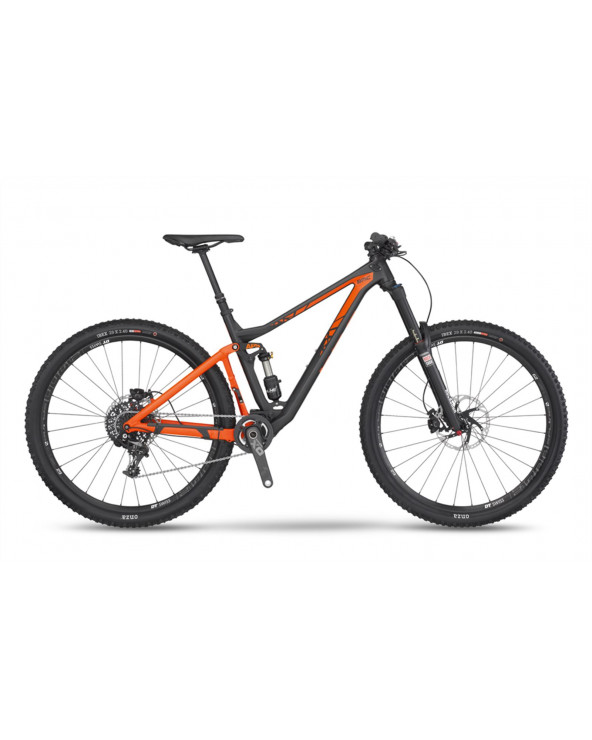 BICI BMC TRAILFOX 2016 TF02 29 ORANGE T-M X01