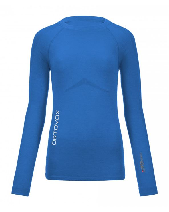 CAMISETA ORTOVOX MERINO COMPETITION LONG SLEEVE WOMEN T-M BL