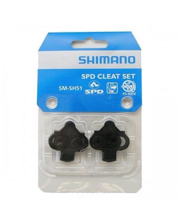 PAR CALAS SHIMANO SM-SH51 S/CHAPA