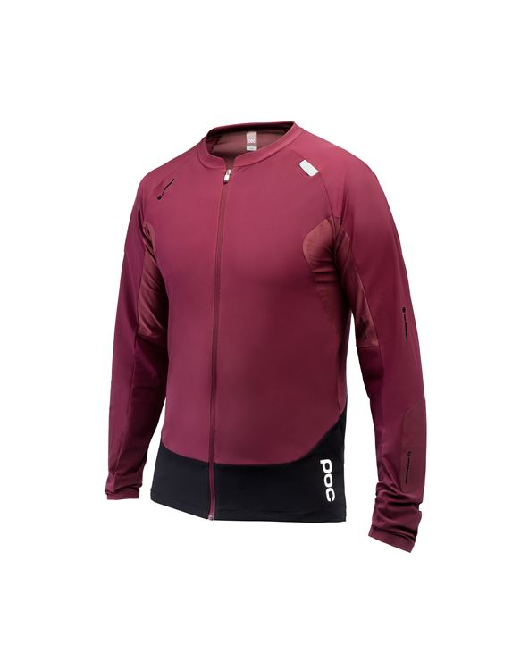 MAILLOT RESISTANCE PRO ENDURO LS JERSEY RED T-L