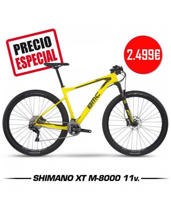 BICI BMC TEAMELITE 02 TE02 DEORE/SLX YELLOW T-M