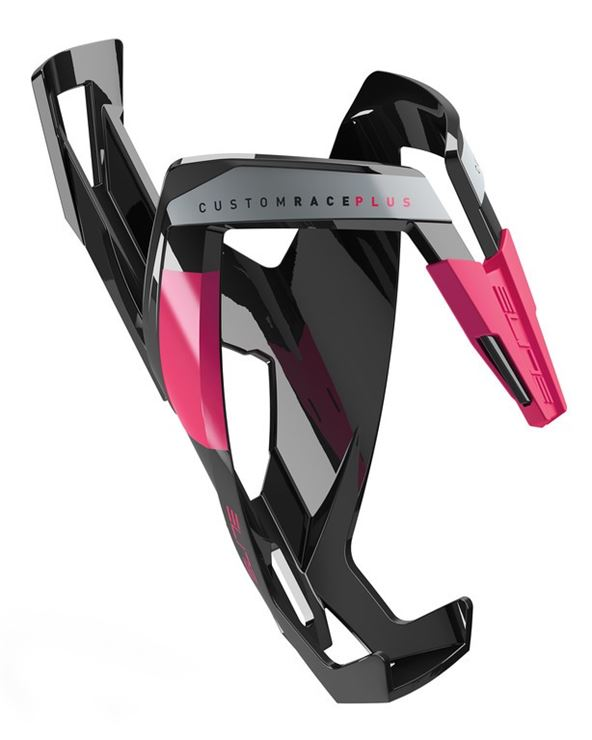PORTABIDÓN ELITE CUSTON RACE PLUS NEGRO BRILLANTE/ROSA