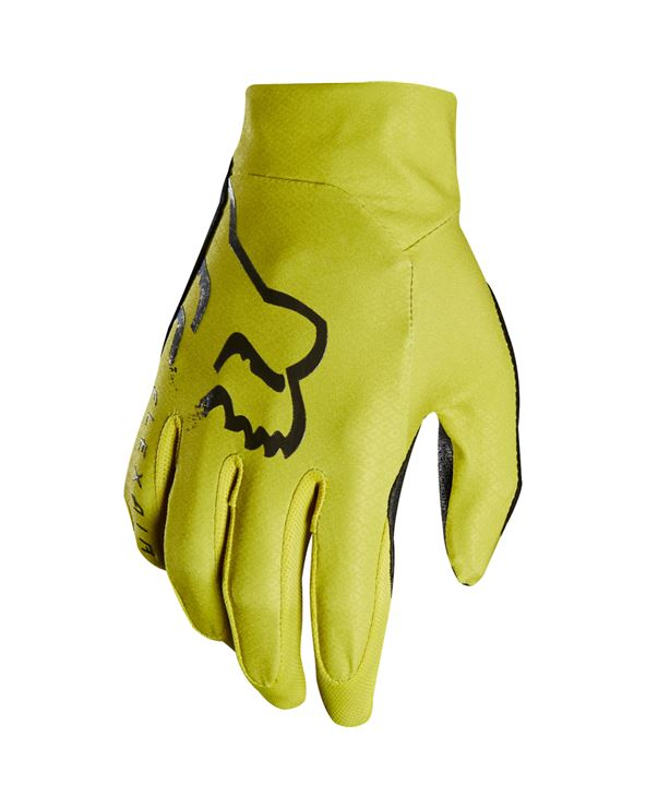 GUANTES FOX FLEXAIR AMARILLO