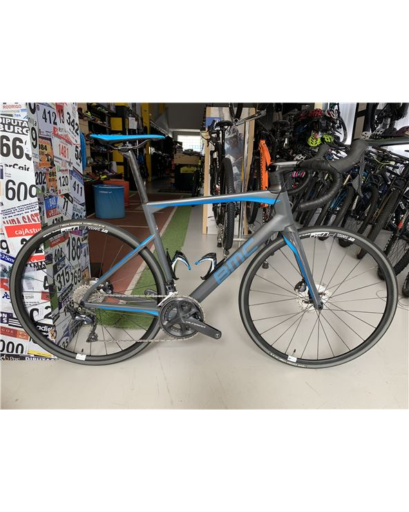 BICI BMC ROADMACHINE 01 FOUR GRY BLU BLU
