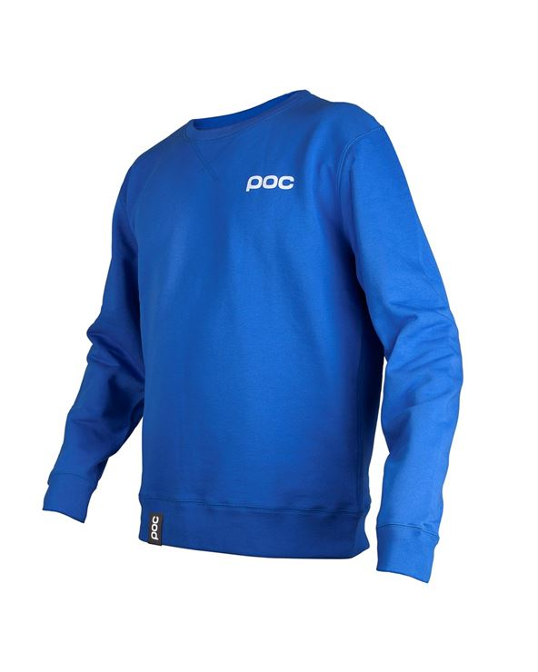 JERSEY POC CREW NECK KRYPTON BLUE L