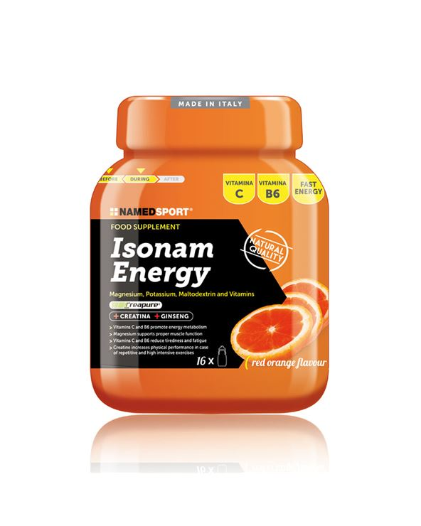 ISONAM ENERGY NARANJA (BOTE 480 GR.)