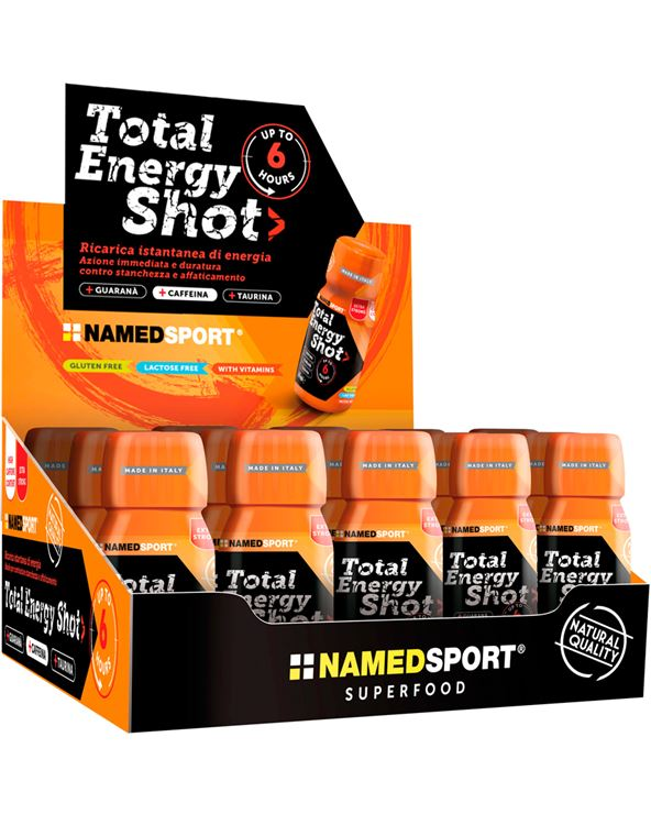 TOTAL ENERGY SHOT NARANJA 60ML