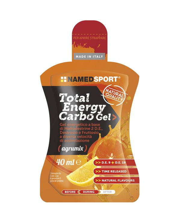 TOTAL ENERGY CARBO GEL AGRUMIX 40ML