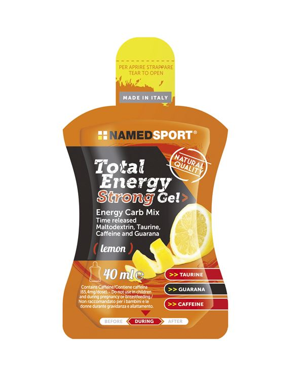 TOTAL ENERGY STRONG GEL LIMON 40ML