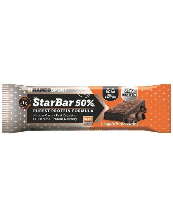 BARRITA STARBAR 50% PROTEIN CHOCOLATE 50GR