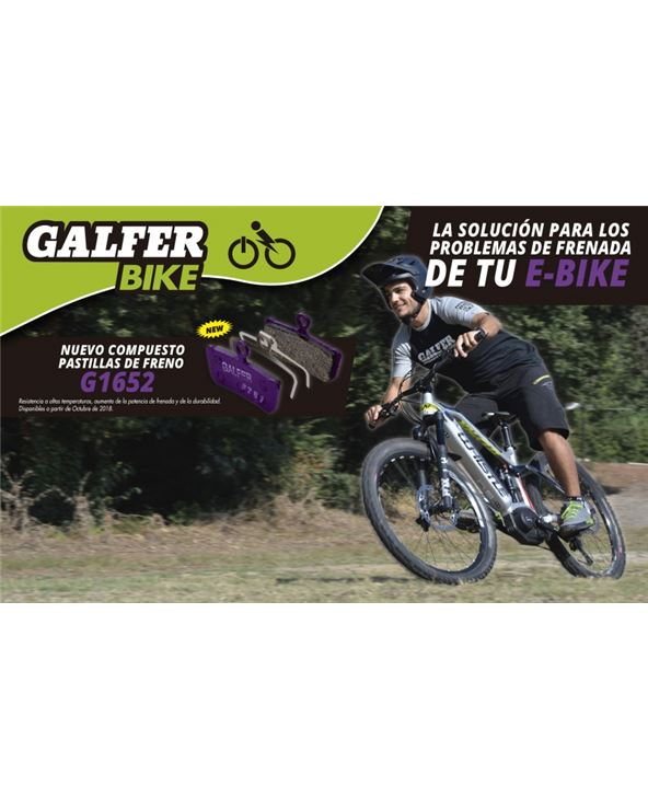 PASTILLAS FRENO GALFER MAGURA MT5, MT7 E-BIKE
