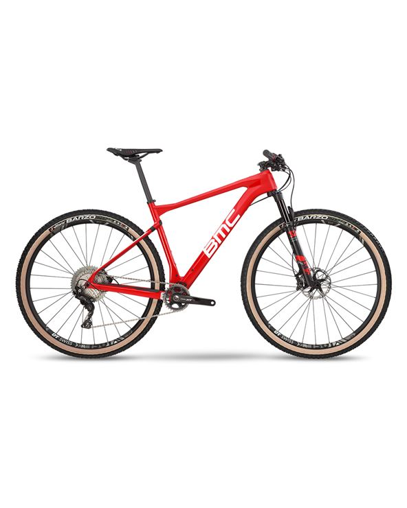 BICI BMC TEAMELITE 01 THREE RED WHT BLK TALLA-L