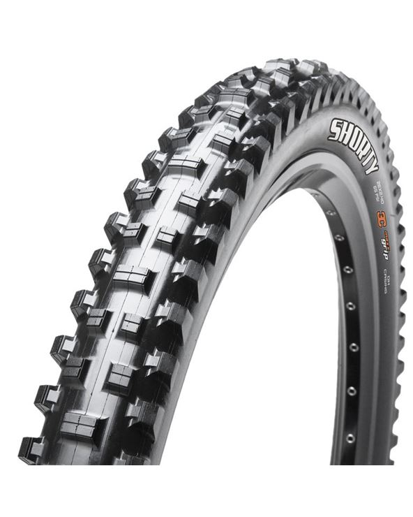 "CUBIERTA MAXXIS SHORTY TLR EXO PLEGABLE 27.5X2.30"" 58-584 NE"