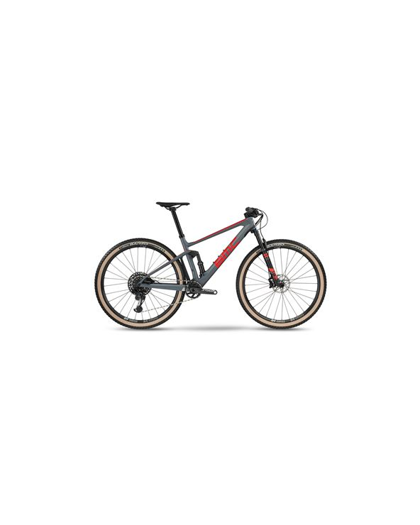 BICI BMC FOURSTROKE 01 THREE GRY RED GRY