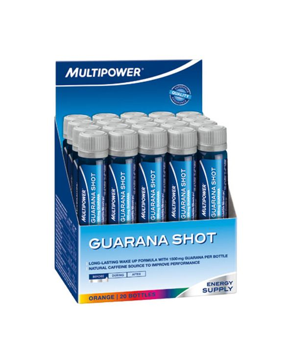 GUARANA SHOT 20 AMPOLLAS X 25ML