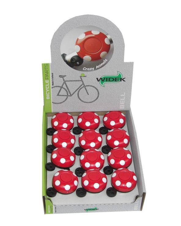 TIMBRE BICI NIÑOS WIDEK CRAZY-ANIMALS