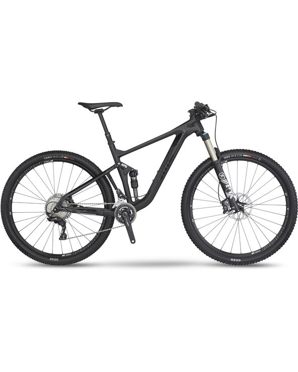 BICI BMC SPEEDFOX 02 XT STEALTH BLACK T-M 2016