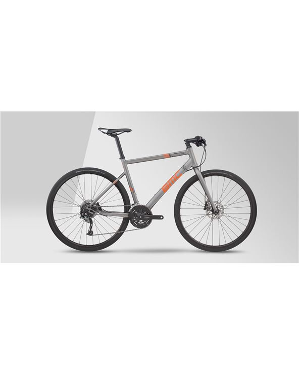 BICI BMC ALPENCHALLENGE AC02 2017 ALIVIO GREY ORANGE